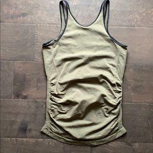 Lululemon Seamless high neck open back tank